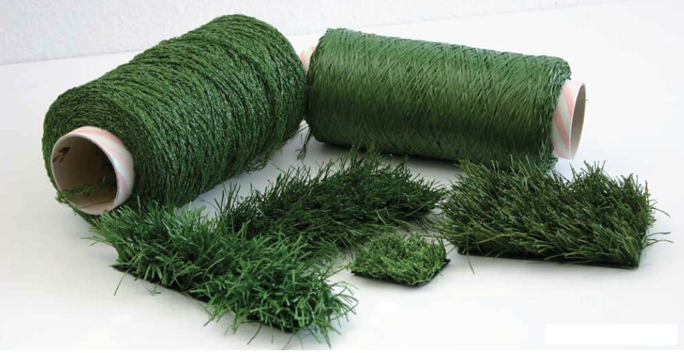 Making Synthetic Grass: From Pellets to Perfection